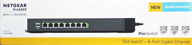 Netgear GSS108E 8-Port Switch